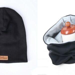 kominy torebki i czapka